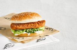 KFC Vegan Burger